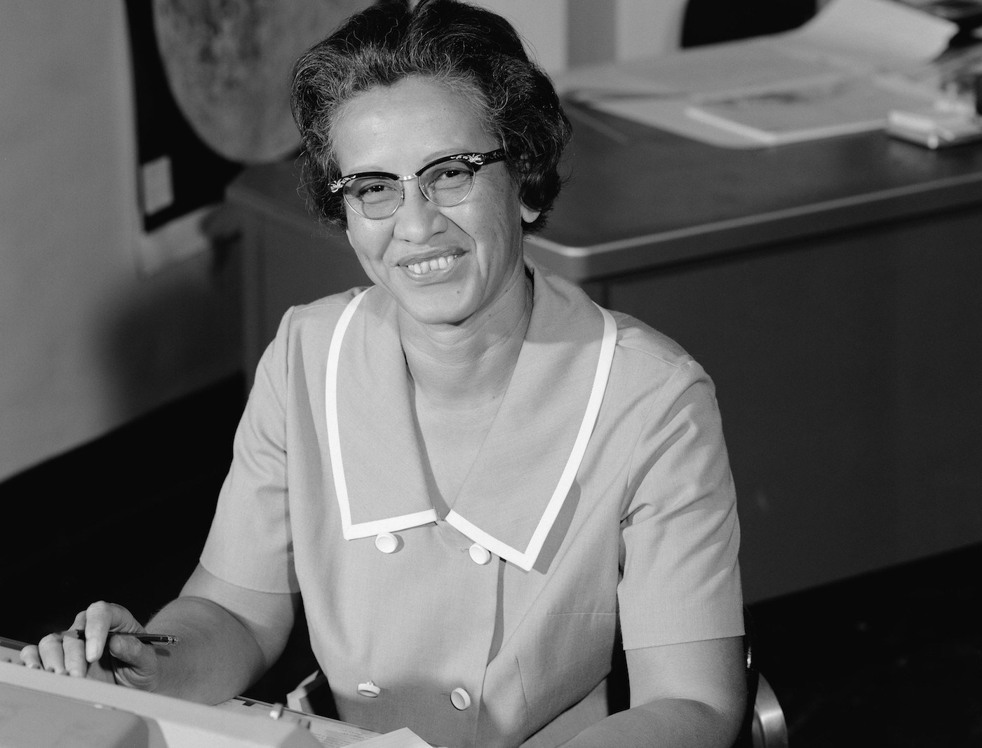 Photo of Famed NASA Mathematician Katherine Johnson to be Honored with Bronze Statue