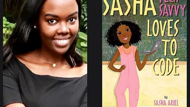 Photo of D.C. Teen Writes Children's Book For Girls in Tech