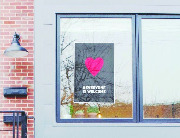 Nando's Peri-Peri sends a message that everyone is welcome. (Courtesy of Nando's Peri-Peri)