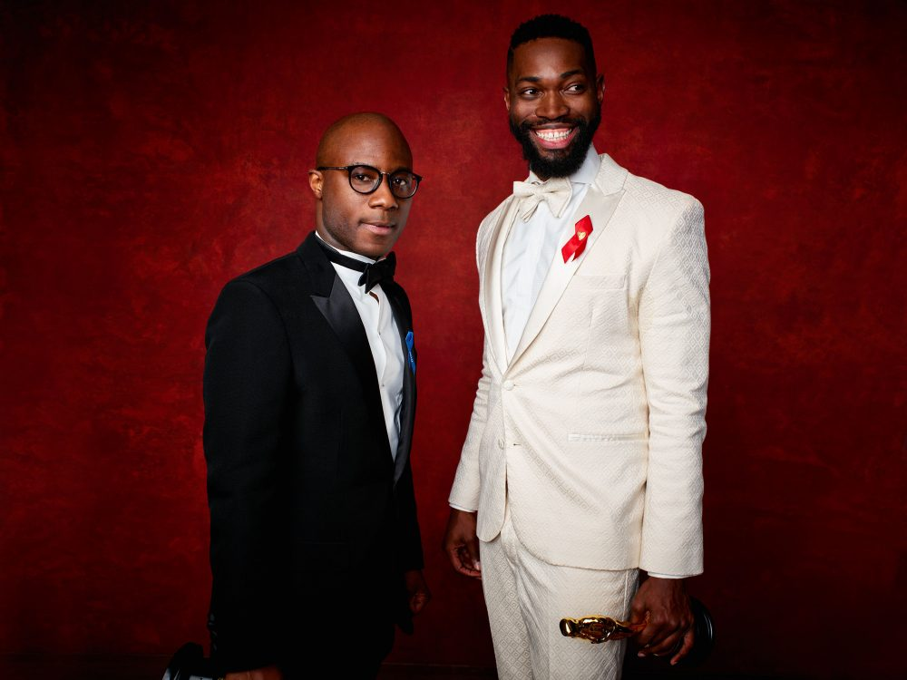 Barry Jenkins (left) and Tarell Alvin McCraney