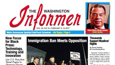 Photo of Washington Informer Digital Issue, February 2, 2017