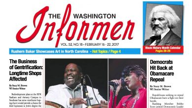 Photo of Washington Informer Issue, February 16, 2017