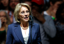 Photo of Education Secretary Betsy DeVos Resigns in Wake of Capitol Riot