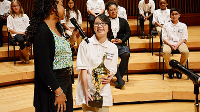 Photo of Girls Reign Supreme at Prince George's County Spelling Bee