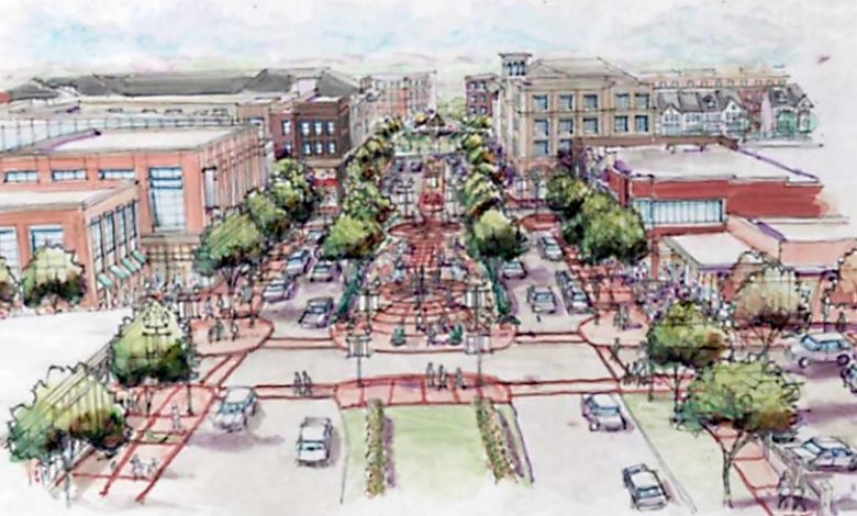 The development plan for Whole Foods' first store in Prince George's County (Courtesy of citi-data.com)