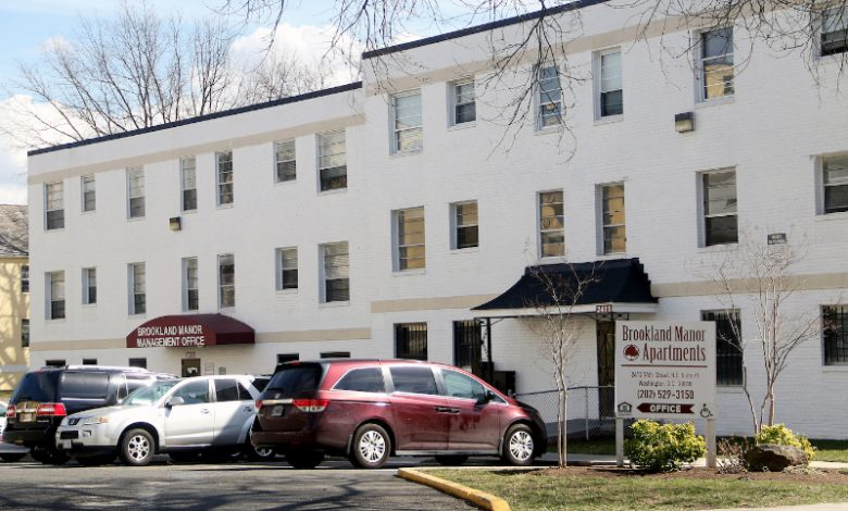 Brookland Manor (Shevry Lassiter/The Washington Informer)