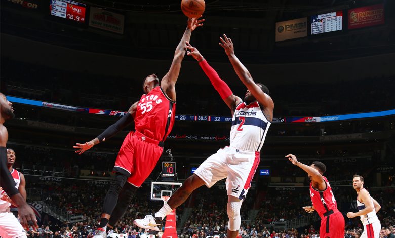 The Toronto Raptors defeated the Washington Wizards 114-106 at Verizon Center in D.C. on March 3. (Courtesy of the Raptors via Twitter)