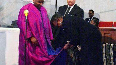 Photo of Historic Black Church Installs New Shepherd