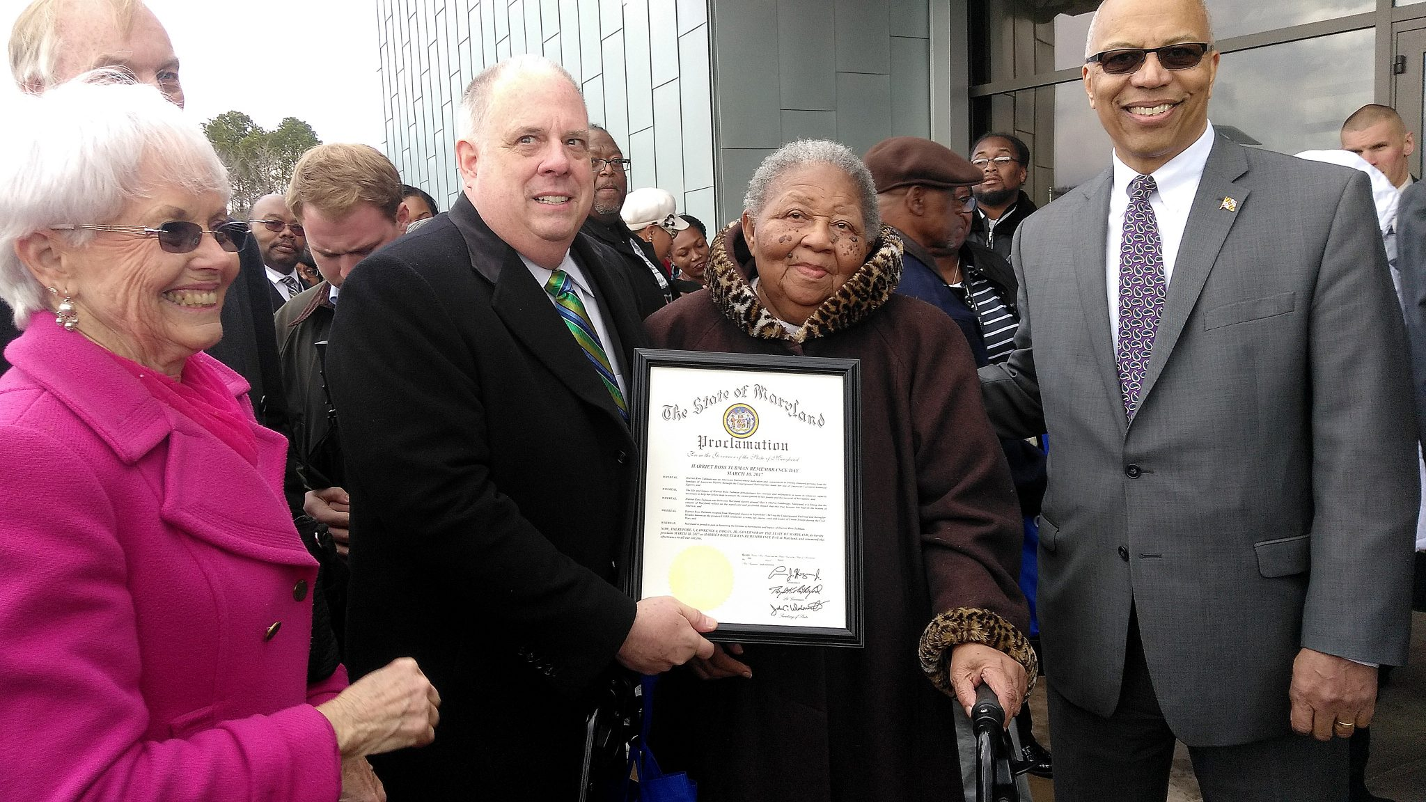 Photo of Harriet Tubman Honored for Helping Slaves Flee to Freedom