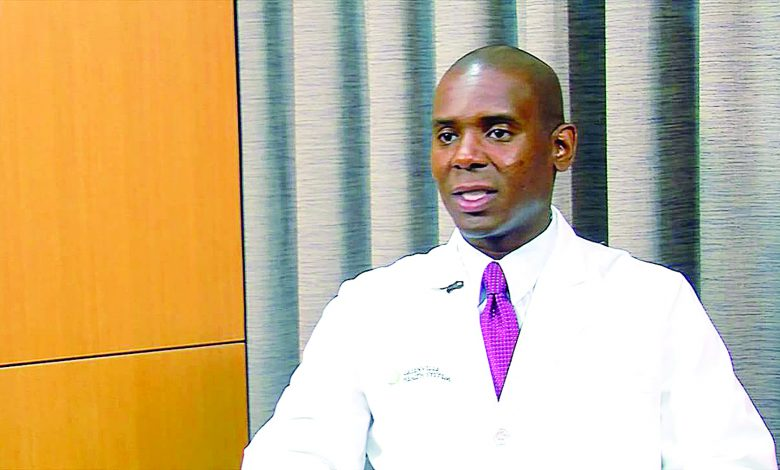 Dr. Cedrek McFadden, clinical professor of surgery at the University of South Carolina School of Medicine Greenville (Courtesy photo)