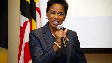 Photo of Donna Edwards Inducted Into Maryland Women HOF