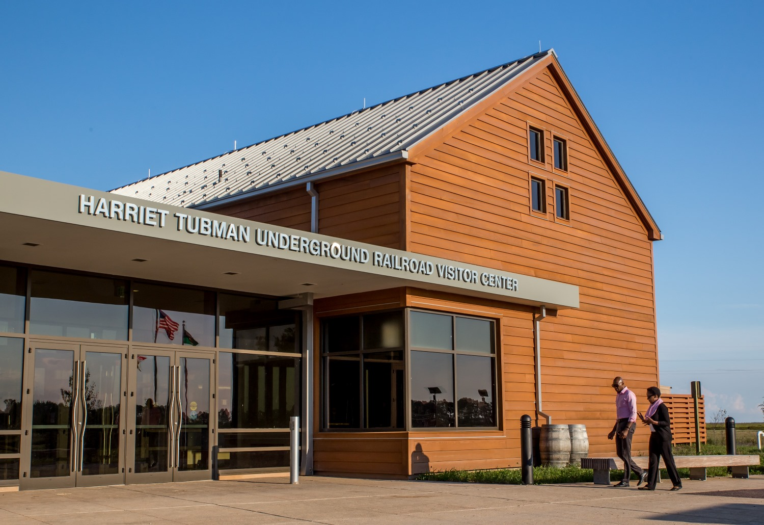 Photo of Grand Opening Set for Harriet Tubman Underground Railroad Visitor Center