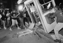 Photo of Directors of New Rodney King Film Talk 1992 L.A. Riots