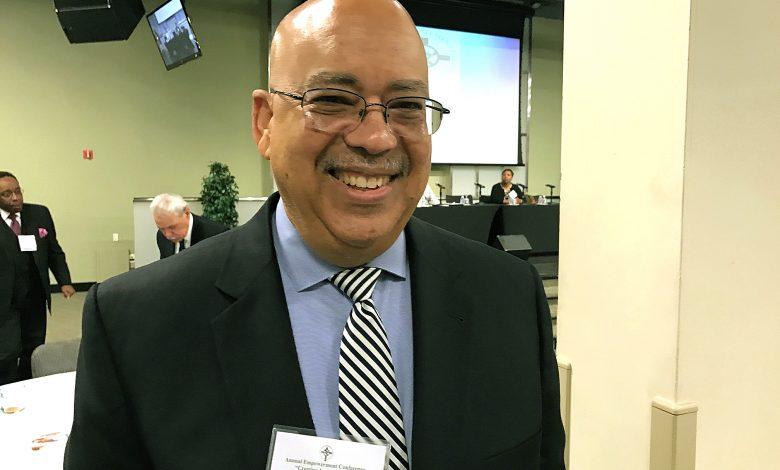 Rev. Jonathan Weaver, pastor of Greater Mount Nebo AME Church in Upper Marlboro (Hamil Harris/The Washington Informer)