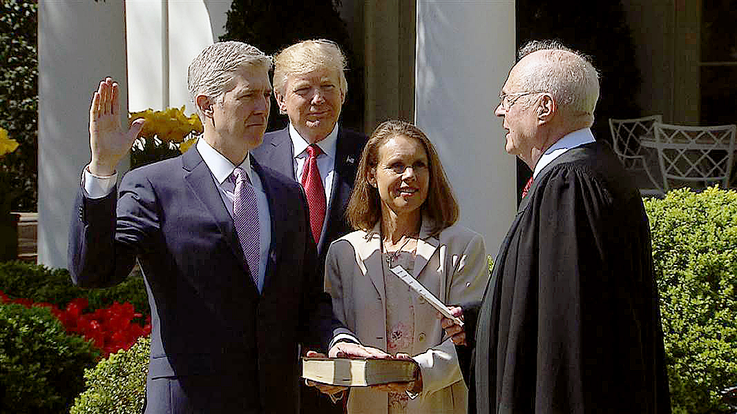 Photo of Anxiousness Pervades as Justice Gorsuch Takes Spot