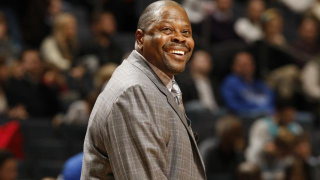 Photo of Patrick Ewing Hired as Georgetown Coach