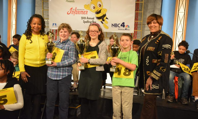 Washington Informer Charities 35th Annual Spelling Bee held at NBC4 studio in Northwest. The winner will represent DC Public Schools in the Scripps National Spelling Bee to be held at the Gaylord in National Harbor, Maryland or May 31. /Photo by Demetrious Kinney