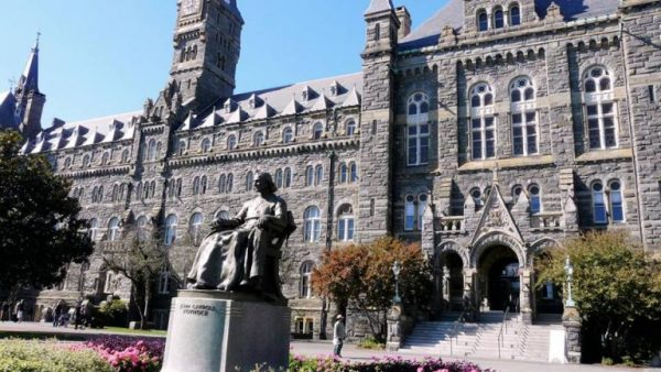 Photo of Georgetown U. Students Embrace Slavery Reparations Fund