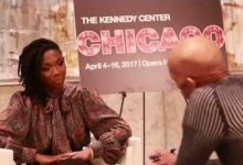 Photo of Brandy Interview with Washington Informer Editor