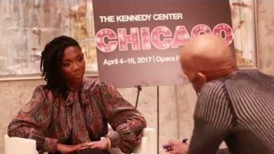 Photo of Brandy Interview with Washington Informer Editor