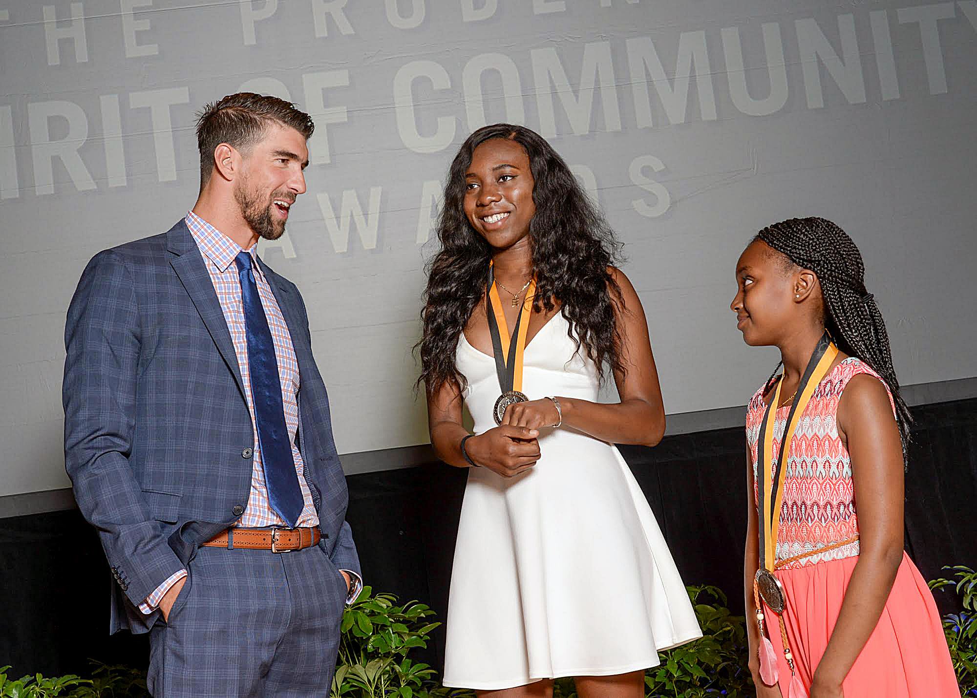 Photo of Local Girls Honored Among Nation's Top Volunteers