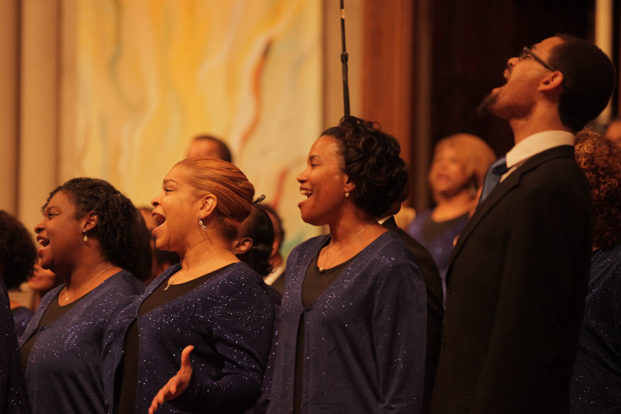 Men & Women of the Gospel Choir (Courtesy of Washington Performing Arts)