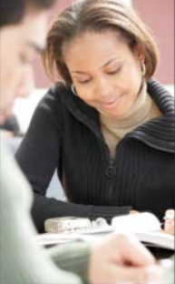 A college student fills out a Pell Grant application. (Courtesy photo)