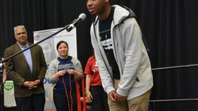 Photo of College Signing Day for DC Seniors (Photos by Roy Lewis)