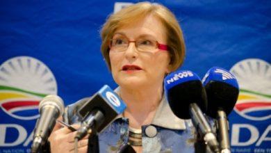Former Democratic Alliance leader Helen Zille (Courtesy of enca.com)