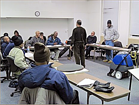 Roughly 10 custodial technicians will be awarded special certification. (Courtesy of theleadershiptraininginstitute.org)