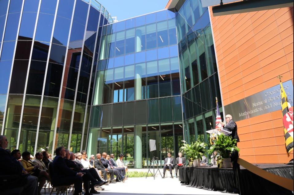 Bowie State University's new Center for Natural Sciences, Mathematics and Nursing (Courtesy of Bowie State University)