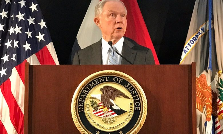 Photo of Sessions to Young Conservatives Who Chanted 'Lock Her Up': 'I Like This Bunch'