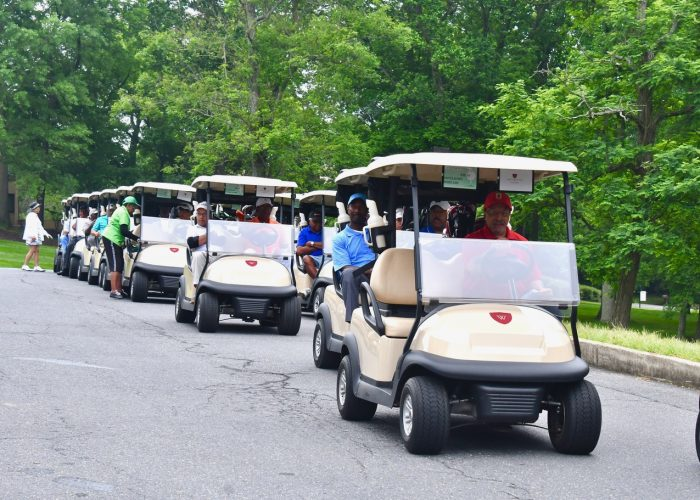 The Wake Robbin Golf Club held its 80th Anniversary Diamond & Pearl Golf Tournament at the Country Club at Woodmore in Mitchelleville, Maryland Monday, June 5. /Photo by Travis Riddick