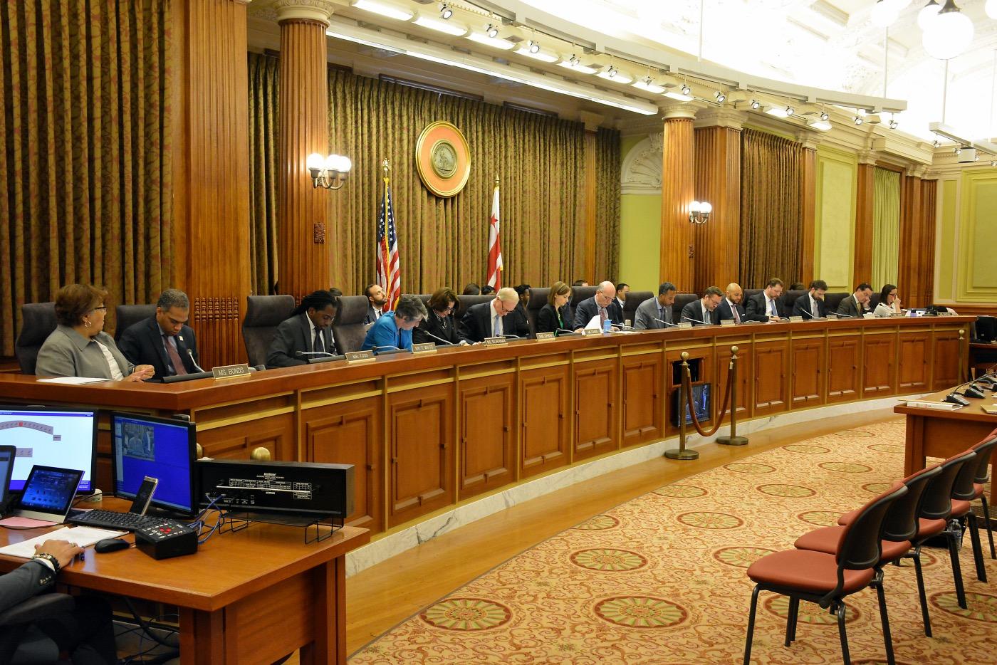 **FILE** D.C. Council (Courtesy photo)