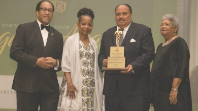 Photo of NNPA Honors MLK III with Legacy Award