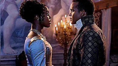"Lashana Lynch (Rosaline Capulet) and Sterling Sulieman (Prince Escalus of Verona) star in ""Still Star-Crossed."" (Courtesy of ABC)"