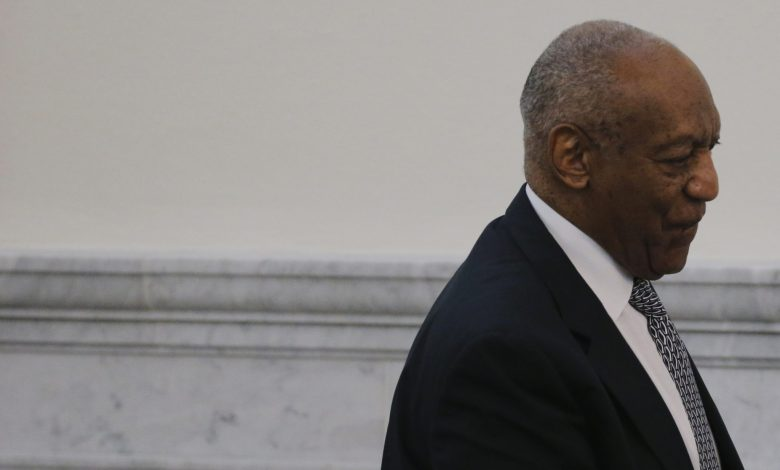Actor and comedian Bill Cosby departs the courtroom during the fifth day of deliberations in Cosby's sexual assault trial at the Montgomery County Courthouse in Norristown, Pennsylvania, on June 16, 2017. (Lucas Jackson/Reuters, Pool)