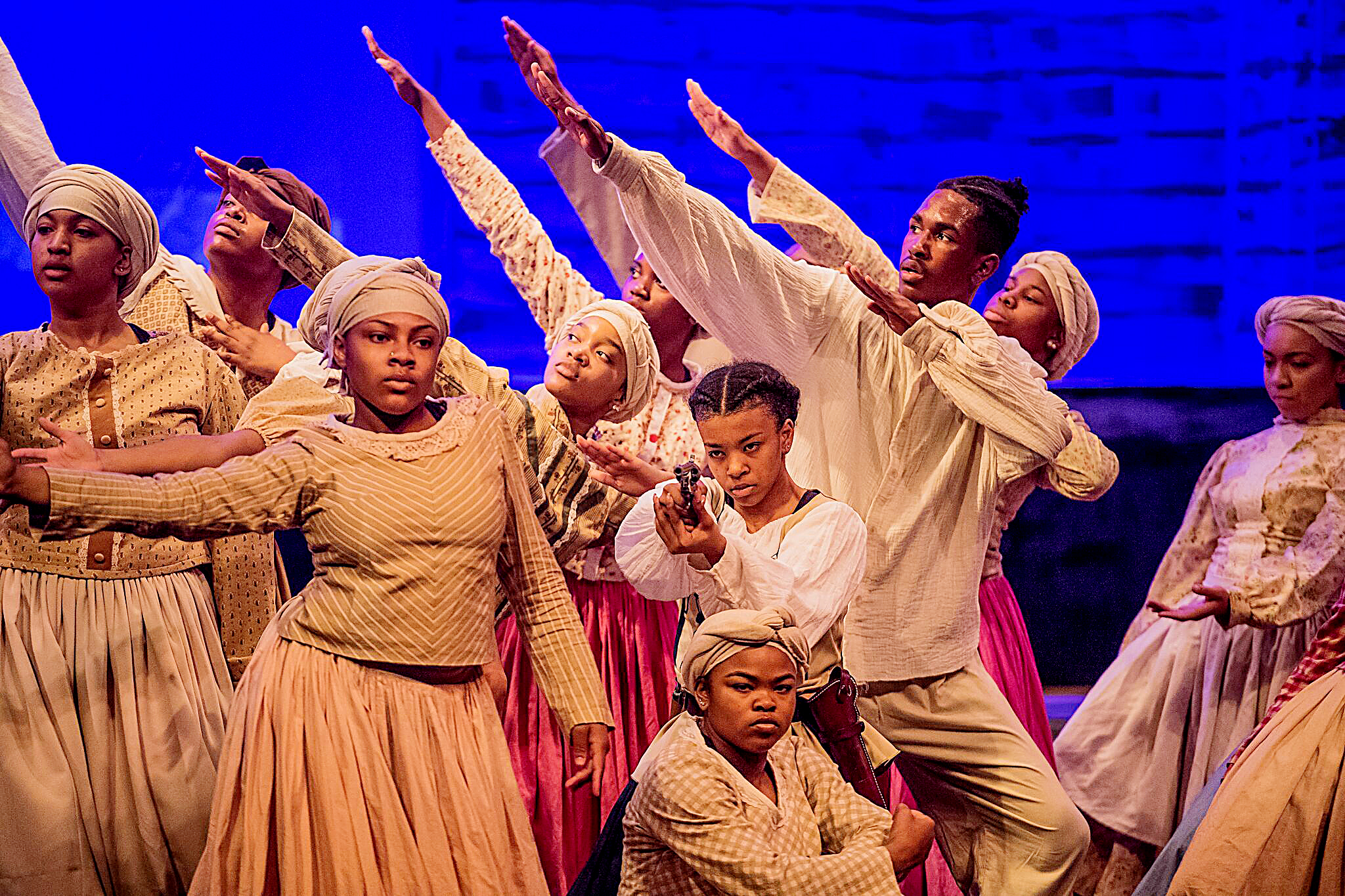 Photo of Students' Talents Abound in 'Harriet and the Underground'