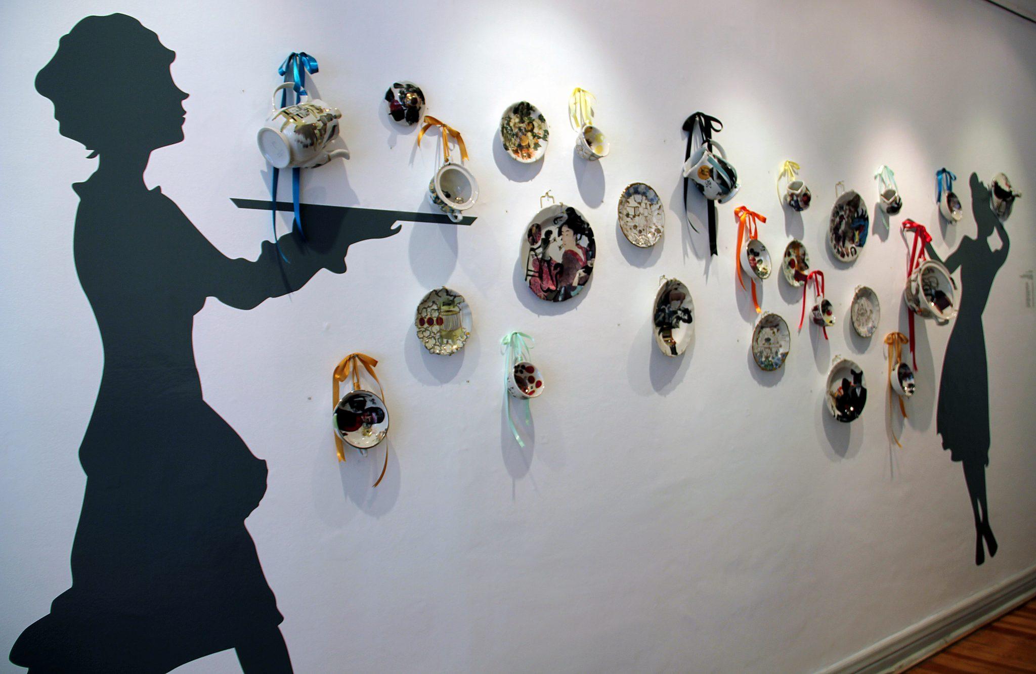 Photo of 'Tierras' Exhibit Shows Versatility of Clay