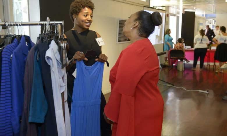 "The ""Suited for Change"" event took place Wednesday, July 19 at the Pepco Edison Place Gallery in Northwest DC./Photo courtesy Pepco, Suited for Change"