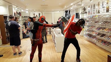 Photo of D.C. Welcomes Only Black-Owned Comic Book Shop