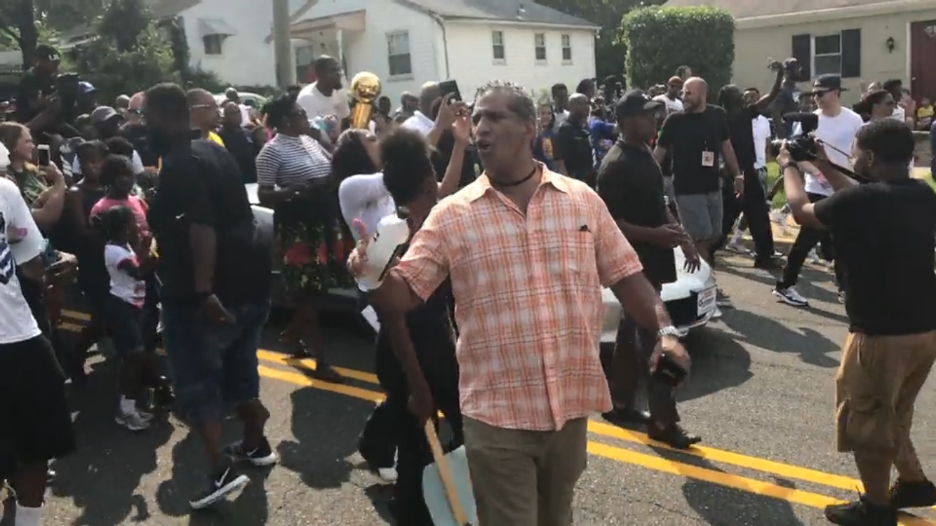 Photo of Kevin Durant Day Parade Invigorates Superstar's Seat Pleasant Hometown