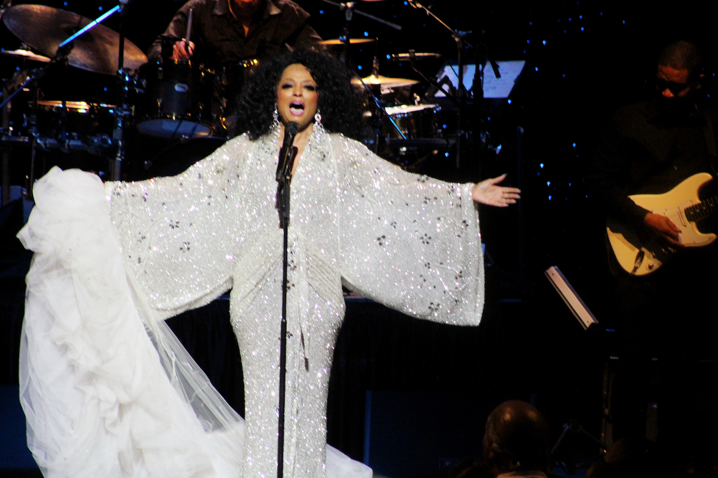 Photo of Diana Ross Still 'The Boss' at Wolf Trap Show