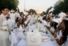Photo of Dîner en Blanc Dazzles D.C.