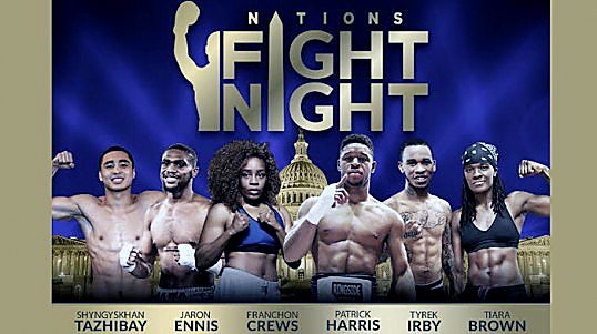 Photo of 'Fight Night' Card to Celebrate D.C. Boxing Legacy