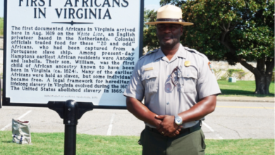 Photo of Supt. Brown Working to Make Fort Monroe a Travel Destination