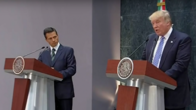Photo of Border Wall Payment 'Least Important Thing,' Trump Told Mexican President