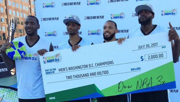 Photo of Dew NBA 3X Electrifies D.C., Brings Flavor to 3-on-3 Basketball