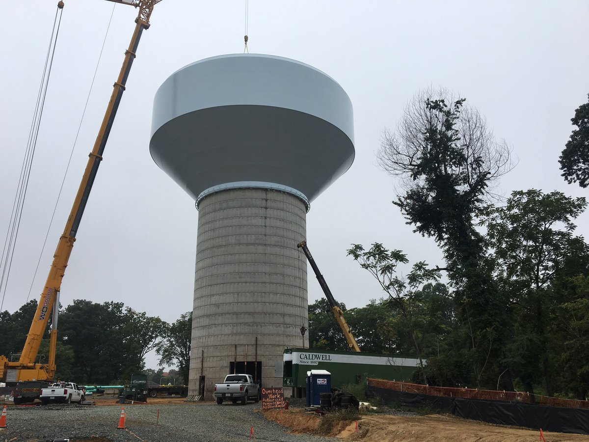 Photo of Southeast D.C. Receives New Water Tank
