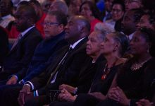 Photo of Dick Gregory Honored at Memorial Service